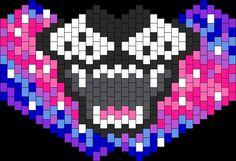 Kandi Mask Patterns, Peyote Patterns, Bead Patterns, Kandi Cuff, Kandi Bracelets, Pony Bead Crafts, Rave Girls, Jean Crafts, Woodworking Projects Diy