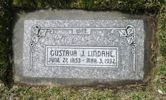 Gustava J. Lindahl 1853-1932  Immigrated from Sweden to Salt Lake  (Wallin side)