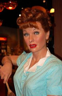 Lucille Ball Hollywoodland Story The Big C, Wax Museum, Madame Tussauds, Lucille Ball, Comedians, Celebrity, California, Model