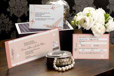 Tea-length Wedding Invitations - Love Airways | MagnetStreet