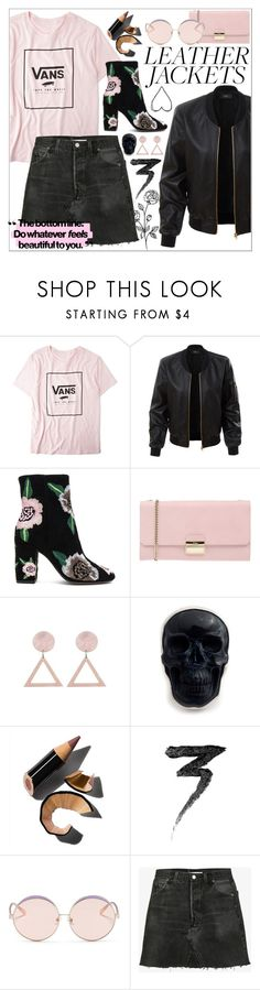 """Untitled #819"" by atarituesday ❤ liked on Polyvore featuring Vans, LE3NO, Rebecca Minkoff, Furla, Bobbi Brown Cosmetics, Manic Panic NYC, N°21 and RE/DONE"
