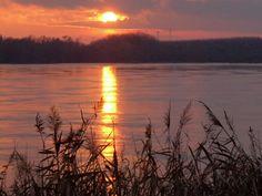 tramonto-delta del po -