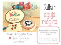 Aguja mágica, taller, bordado ruso, Violín Cantarín