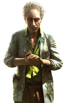 Doctor Earnhardt - Pictures & Characters Art - Far Cry 3