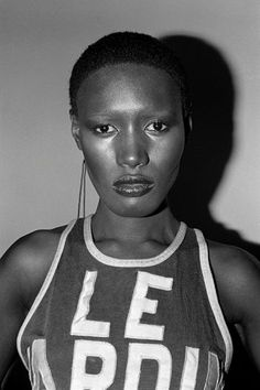 Grace Jones by Christopher Makos, 1976