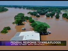 Vitter Discusses Red River Flooding with KTAL in Shreveport - YouTube
