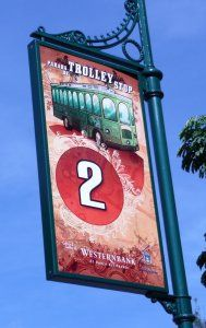 This is a fun way to see Old San Juan if you can catch it ~ Free Trolley ~ Old San Juan, Puerto Rico
