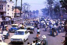 vintage everyday: Street Scenes of Saigon, Vietnam from Between 1970-1975 in Color