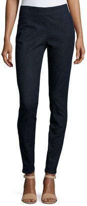 Shop Now - >  https://api.shopstyle.com/action/apiVisitRetailer?id=627630291&pid=uid6996-25233114-59 Joan Vass Stretch Denim Slim Jeans, Plus Size  ...