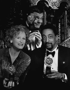 Glenn Close with Nathan Lane and Gregory Hines (1995)