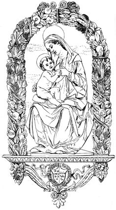 Christian Symbols - Virgin and Child - Medieval