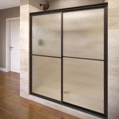Basco Deluxe 49-in to 51.375-in Framed Shower Door