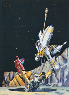 Peter Jones - The Gold at Starbow's End (1974) from his retrospective art book 'Solar Wind' (1980)