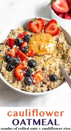 Rice Breakfast Recipes, Healthy Oatmeal Breakfast, Healthy Oatmeal Recipes, Snack Recipes, Healthy Fats, Healthy Cooking, Healthy Choices, Keto Recipes, Healthy Eating