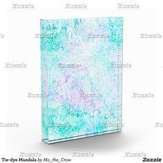 Tie-dye Mandala Acrylic Award