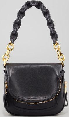 Jennifer Black Calfskin Maxi-Chain Shoulder Bag by Tom Ford at Bergdorf  Goodman. 7635f481087d4