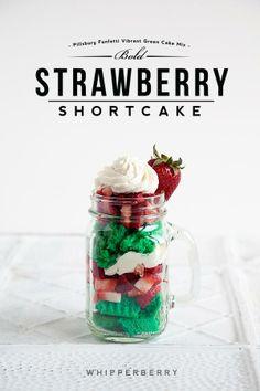 #Funfetti Bold Strawberry #Shortcake from Whipperberry #GoBold