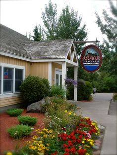 Coho Cafe - Tofte, MN  ~ One of our favorite places to eat @ Bluefin Bay!