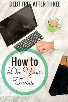 Have you ever wanted to learn how to do your own taxes? How I finally learned to do my taxes! http://www.debtfreeafterthree.com/taxes/