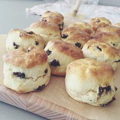 Cornish scones