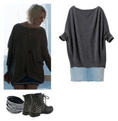 Riley Blue - Sense8 by shadyannon on Polyvore featuring polyvore fashion style Uniqlo Hot Topic clothing