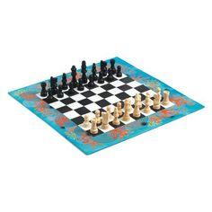 DJECO Шахматы, DJECO  — 1539 руб.  —  Шахматы от французского производителя Djeco – великолепный набор, который понравится и детям, и взрослым!   Яркий набор классической игры в неповторимом дизайне Djeco! Набор включает в себя прекрасные деревянные фигурки и иллюстрированную доску для игры.   Игра в шахматы развивает логическое и стратегическое мышление, внимательность, способность к принятию решений.   Набор изготовлен из безопасных высококачественных материалов.  Продается в яркой…
