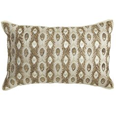 Pier One Decorative Pillows Extraordinary Harlem Blues Moroccan Crewel Pillow Pier 1  In Tones Of Honey Design Ideas