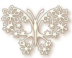 Wild Rose Studio - Die - Winter Butterfly