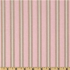 Premier Prints Trey Stripe Bella Pink/Cozy
