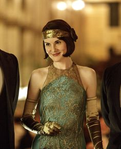 The Enchanted Garden | Michelle Dockery as Lady Mary Crawley in Downton...