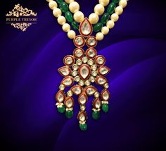 PurpleTresor - beauty - jewelry - gorgeous - statementjewelry - pearls - gorgeous - beautifuljewelry  Call Purple Tresor {+91 9810970040} for Costume jewellery, fashion jewellery, kundan polki earings and sets, latest accessories.