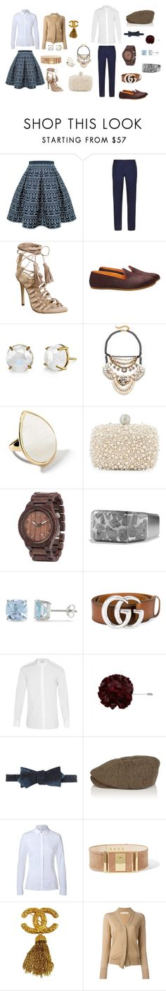 """""""Hers and His Easter Outfits By:Dourje'"""" by aaron-dourje-washington on Polyvore featuring Rumour London, DKNY, Office, Galet, Irene Neuwirth, David Aubrey, Ippolita, Roger Vivier, WeWood and David Yurman"""