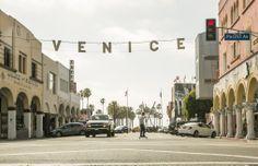 Welcome to Venice Beach #DreamingInBlue