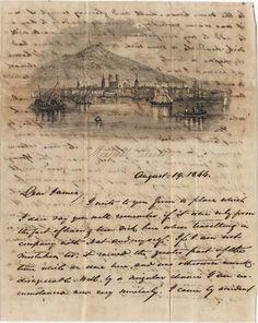 William Henry Heyward to James B. Heyward August 19, 1844.