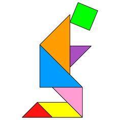 Resultado de imagen de cruz Tangram