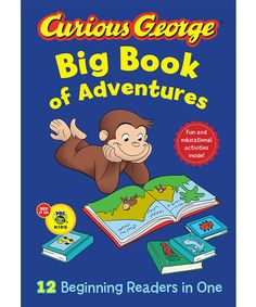 Another great find on #zulily! Curious George Big Book of Adventures Hardcover by Curious George #zulilyfinds