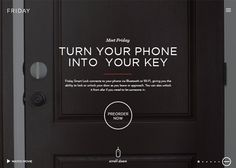 Friday Smart Lock | CSS Website Pinned by TriggerNews IOS & Android App