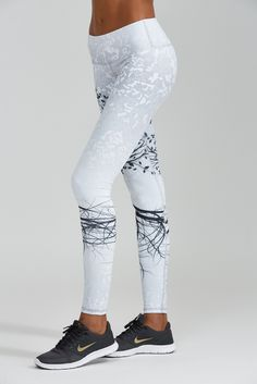 Not a full length yoga pant person but these are really cool... as long as you don't sweat!  Lol