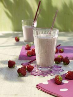 Erdbeer-Frühstücks-Drink