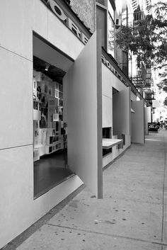 Storefront for Art and Architecture - Steven Holl