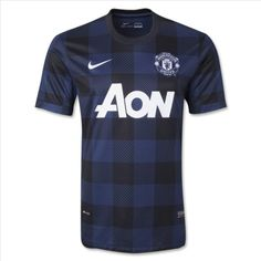 742263daeb6 Manchester United Away Black Navy Shirt 2013 2014-http   www