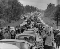 convoy to Woodstock. I really should have been alive during Woodstock, I'd have gotten my wild and crazy college buddies and we'd have been there!!!