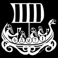 Viking Ship by Mark Gauti