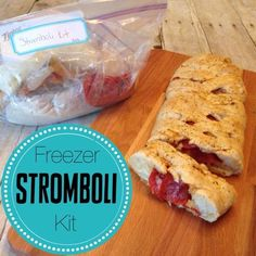 Looking for an easy dinner? These freezer stromboli kits can be made ahead of time and taste great.