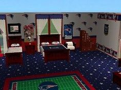 Mod The Sims - New England Patriots set for firefly001282