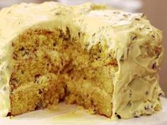 Butternut Cake with Butter Pecan Frosting