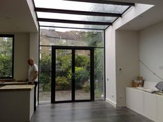 but the roof. Glass Extension, Conservatory, Extensions, Architecture, Interior, Kitchens, Houses, Spaces, Furniture