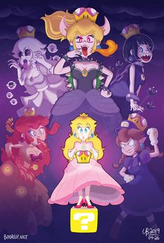 The Power of the Super Crown by TheBourgyman on DeviantArt Mario Fan Art, Super Mario Art, Nintendo Characters, Video Game Characters, Cumpleaños Lady Bug, Super Princess Peach, Mario Comics, Nintendo Princess, Princesa Peach