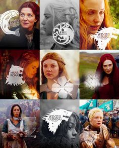 The women of Westeros