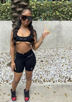 Cute Little Girls Outfits, Swag Outfits For Girls, Teen Girl Outfits, Cute Swag Outfits, Boujee Outfits, Baddie Outfits Casual, Classy Outfits, Summer Outfits, Fashion Outfits